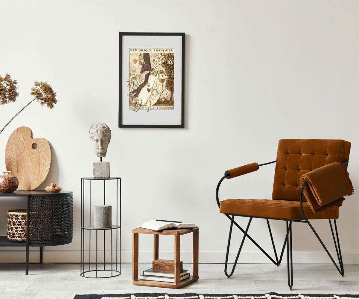 chaise vintage lovers